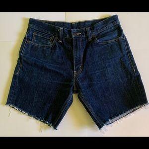 Levi's 511 Men's Skinny Denim Shorts Size 34x30